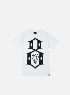 Rebel 8 - Standard Issue Logo T-shirt, White 1