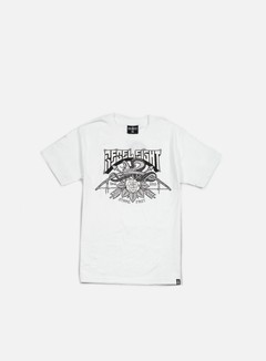 Rebel 8 - Strike First T-shirt, White 1