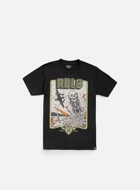 t shirt rebel 8 top gunner t shirt black