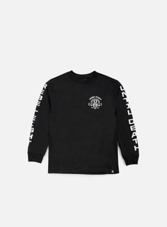 Rebel 8 - Until Death LS T-shirt, Black 1