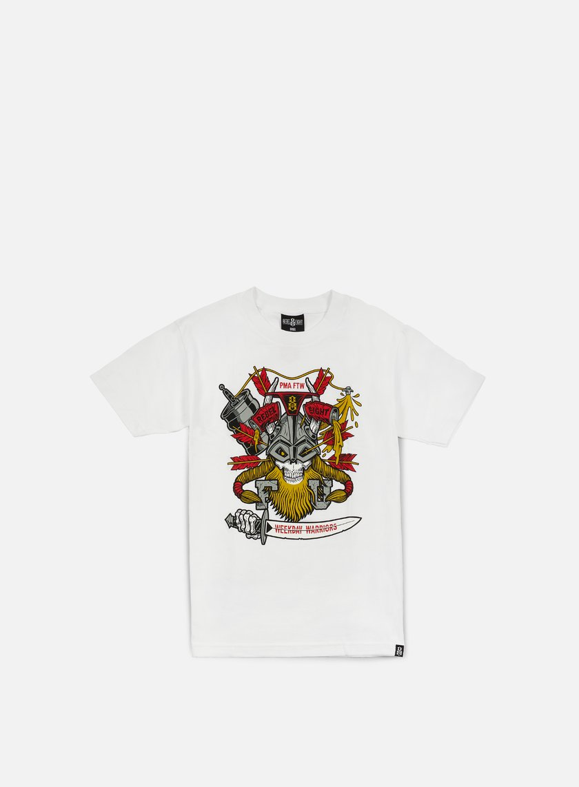 Rebel 8 - Weekday Warriors T-shirt, White