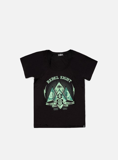 Outlet e Saldi T-shirt a Manica Corta Rebel 8 WMNS Fate Or None T-shirt