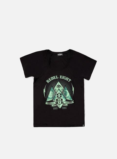 Outlet e Saldi T-shirt a Manica Corta Rebel 8 WMNS Fate Or None T-shirt