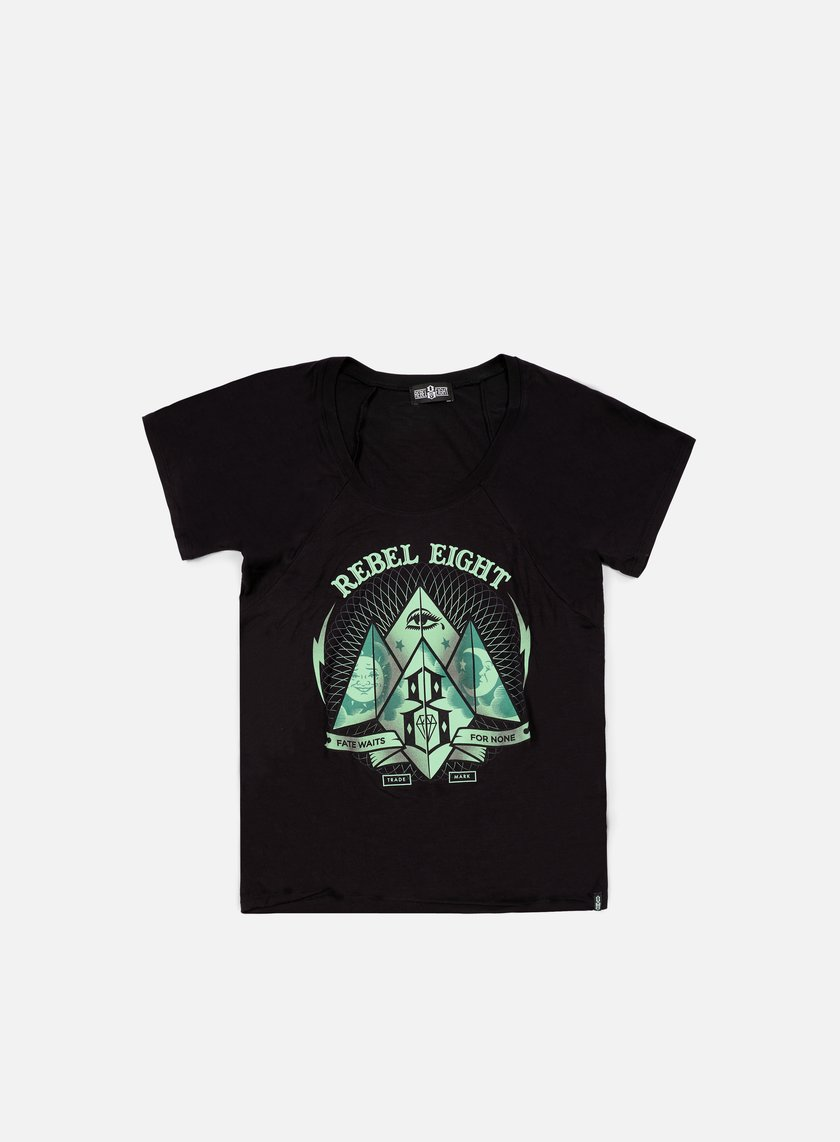 Rebel 8 - WMNS Fate Or None T-shirt, Black