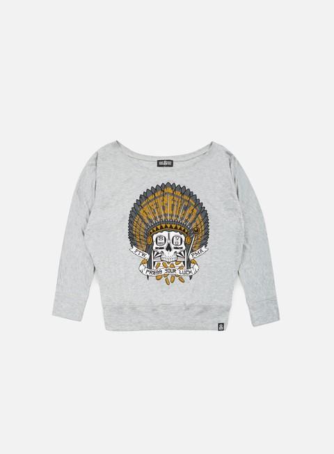 Outlet e Saldi T-shirt a Manica Lunga Rebel 8 WMNS Press Your Luck LS T-shirt
