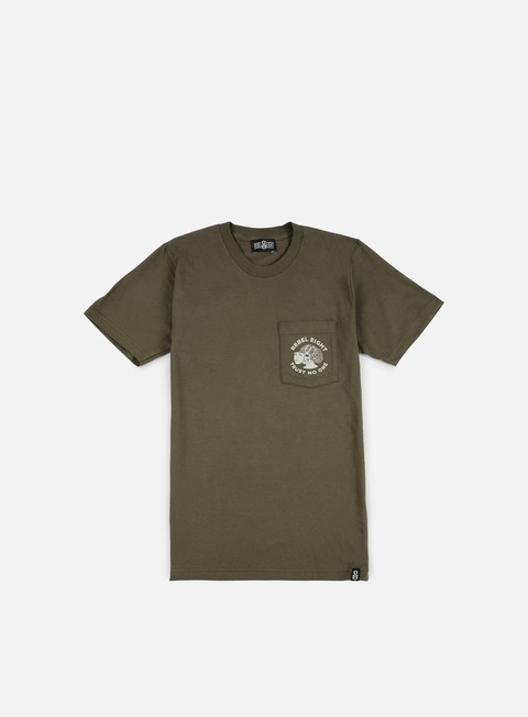 t shirt rebel 8 wmns two faced pocket t shirt military green