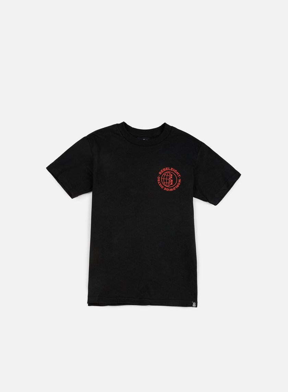 Rebel 8 - Worldwide Distro T-shirt, Black