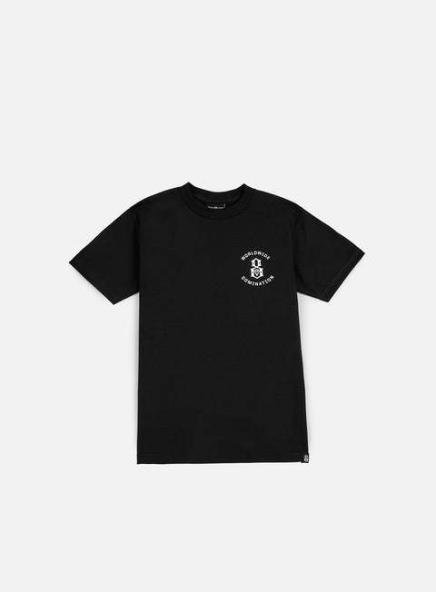 Sale Outlet Short Sleeve T-shirts Rebel 8 Worldwide Domination T-shirt