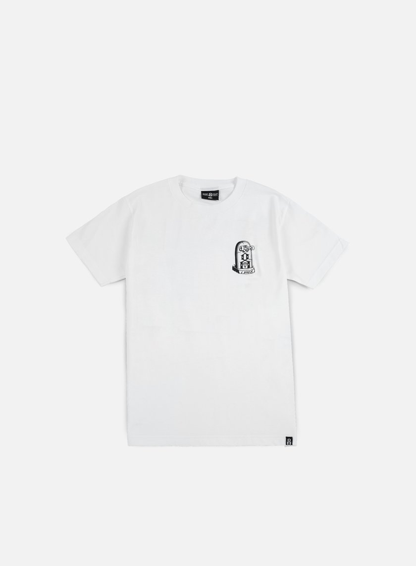Rebel 8 - Young Till Death T-shirt, White