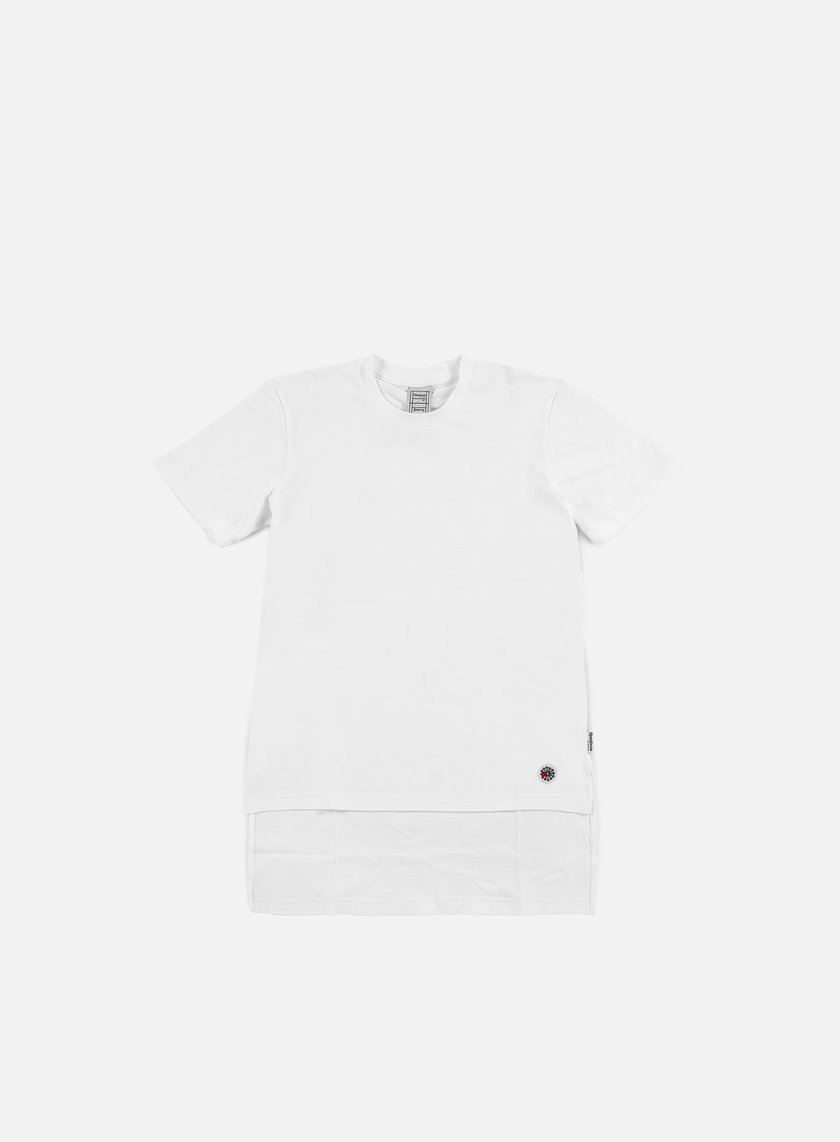 Reebok - Beams Dropped Hem T-shirt, White