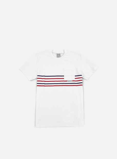 t shirt reebok beams pocket t shirt white
