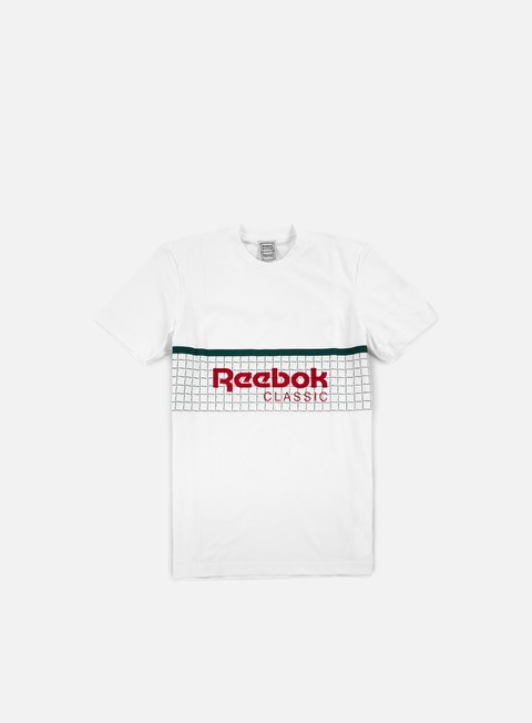 t shirt reebok beams tennis net t shirt white