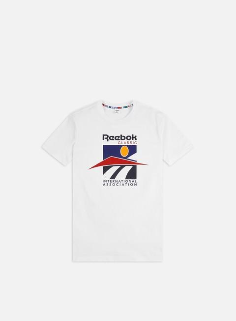 Outlet e Saldi T-shirt a Manica Corta Reebok Classic International Sport T-shirt