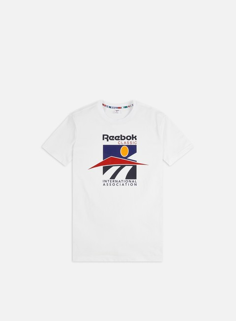 Short Sleeve T-shirts Reebok Classic International Sport T-shirt