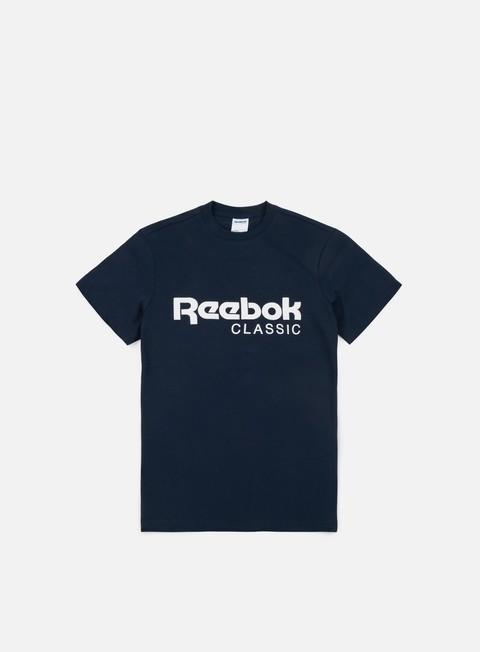 t shirt reebok classic t shirt collegiate navy