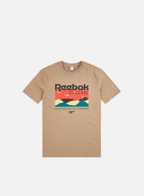 Outlet e Saldi T-shirt a Manica Corta Reebok Classics Trail Graphic T-shirt