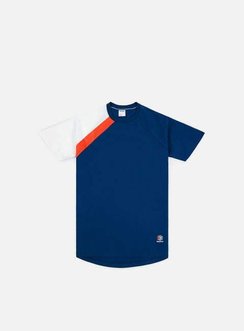 t shirt reebok es t shirt bunker blue white