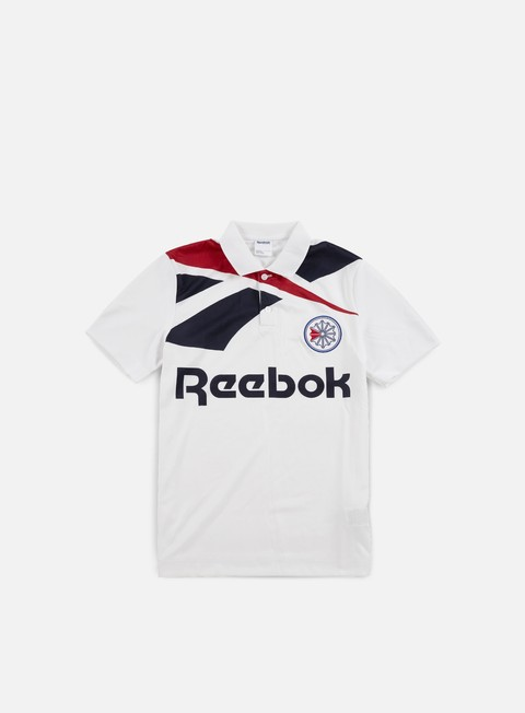 t shirt reebok ss training top white collegiate navy