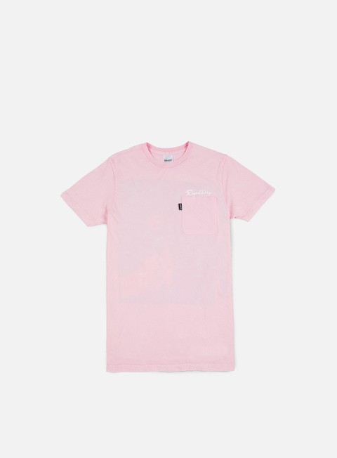t shirt rip n dip blow me pocket t shirt pink mineral wash