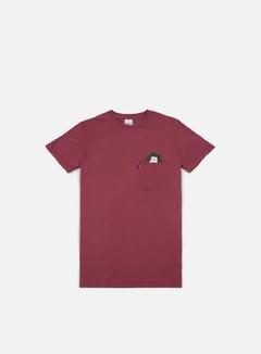 Rip N Dip - Cat Nip Pocket T-shirt, Burgundy 1