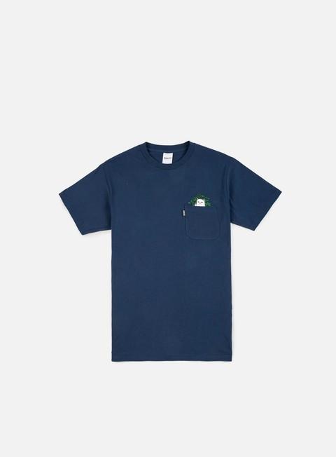 Short Sleeve T-shirts Rip N Dip Cat Nip Pocket T-shirt