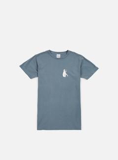 Rip N Dip - Cats T-shirt, Blue Pigment Wash 1