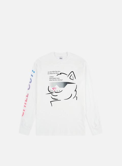 Outlet e Saldi T-shirt a Manica Lunga Rip N Dip Chill Out LS T-shirt