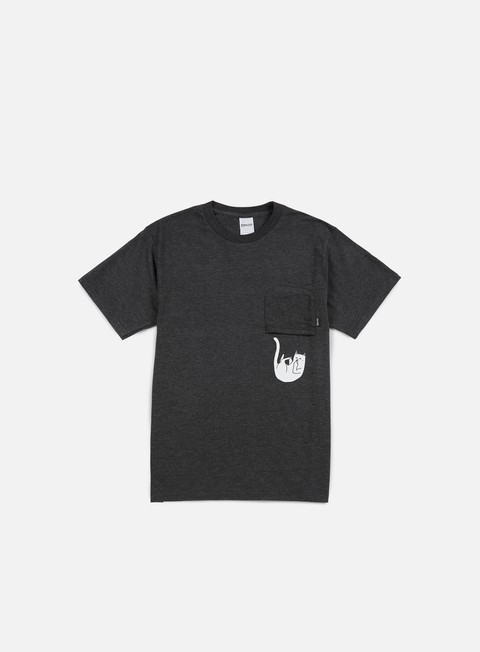 t shirt rip n dip falling for nermal pocket t shirt charcoal heather