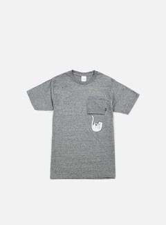 Rip N Dip - Falling For Nermal Pocket T-shirt, Heather Grey
