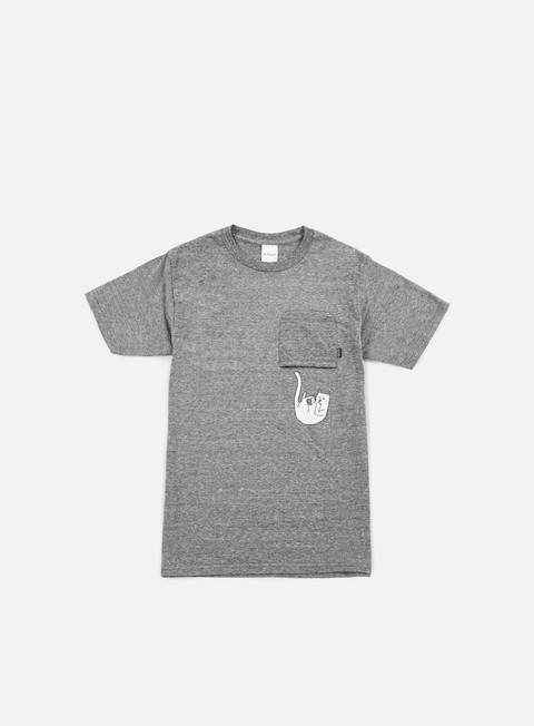 t shirt rip n dip falling for nermal pocket t shirt heather grey