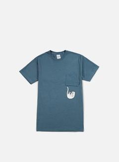 Rip N Dip - Falling For Nermal Pocket T-shirt, Indigo Heather 1
