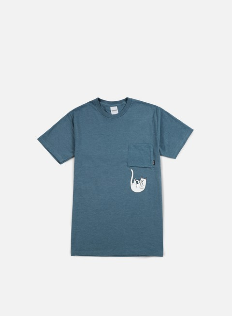 t shirt rip n dip falling for nermal pocket t shirt indigo heather