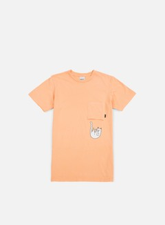 Rip N Dip - Falling For Nermal Pocket T-shirt, Peach 1