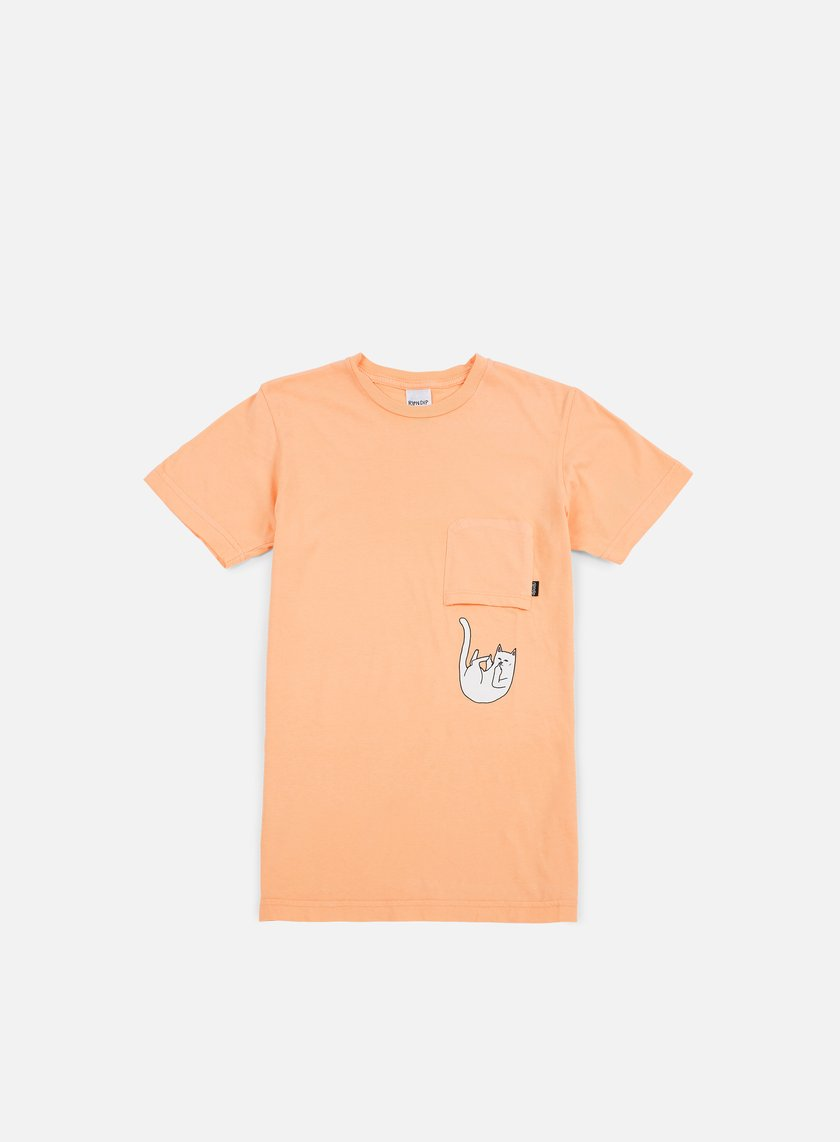 Rip N Dip - Falling For Nermal Pocket T-shirt, Peach