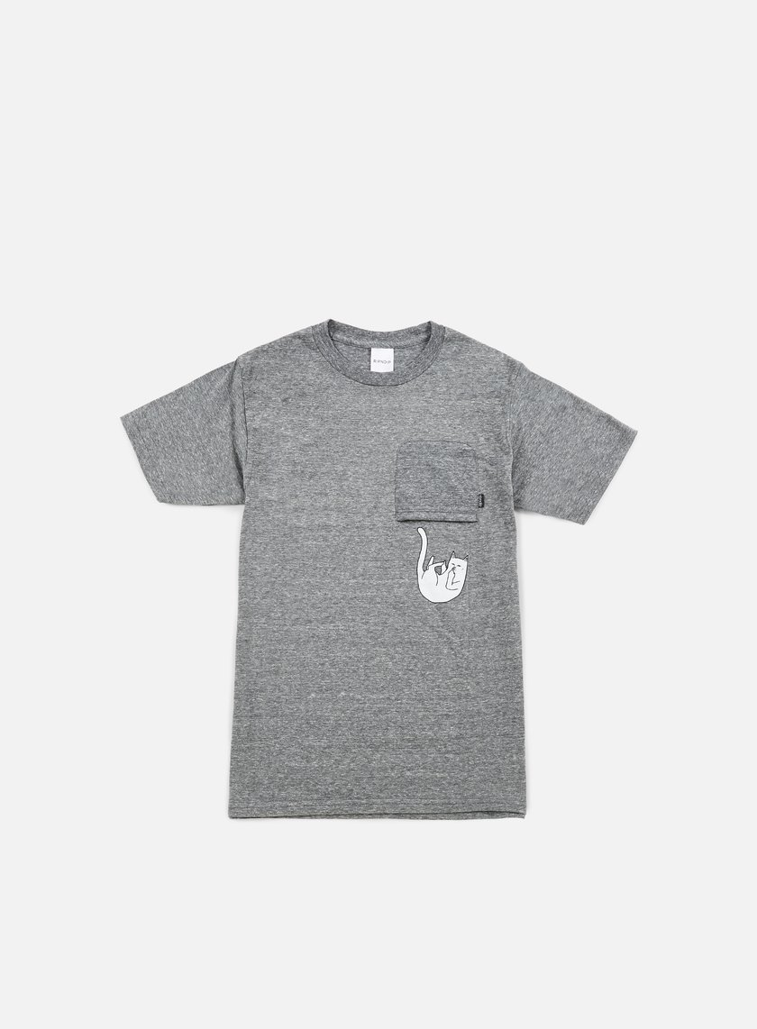 Rip N Dip - Falling For NermalT-shirt, Heather Grey