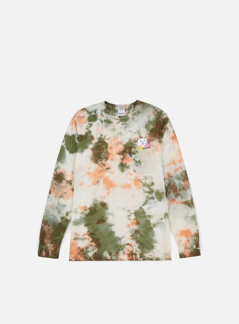 Sale Outlet Pocket T-shirts Rip N Dip Flowers For Bae Pocket LS T-shirt