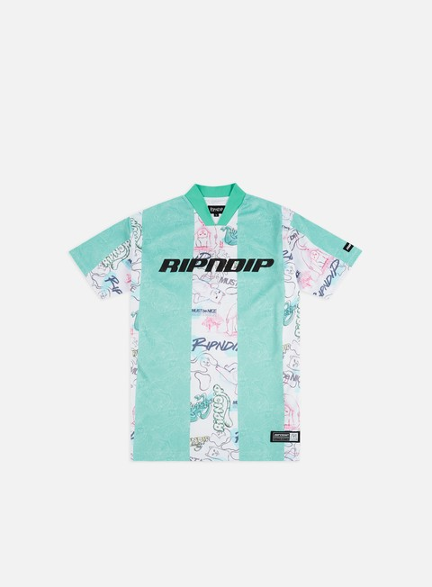 Outlet e Saldi T-shirt a Manica Corta Rip N Dip Goalaso Nylon Soccer Jersey