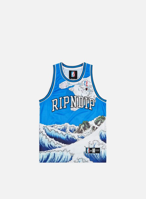 Outlet e Saldi Canotte Rip N Dip Great Wave Basketball Jersey