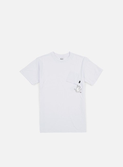 Outlet e Saldi T-shirt a Manica Corta Rip N Dip Hang In There Nermal Pocket T-shirt