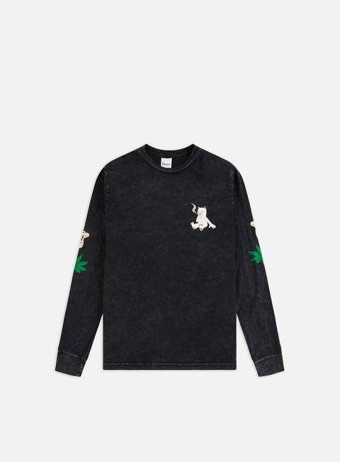 Outlet e Saldi T-shirt a Manica Lunga Rip N Dip Herb Eater LS T-shirt