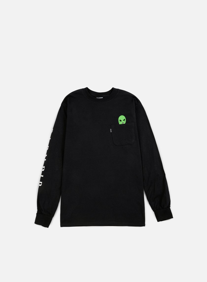 Rip N Dip - Lord Alien LS T-shirt, Black