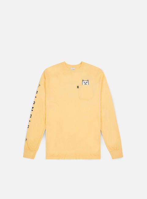 Sale Outlet Pocket T-shirts Rip N Dip Lord Nermal Pocket LS T-shirt
