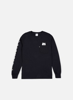 Rip N Dip Lord Nermal Pocket LS T-shirt