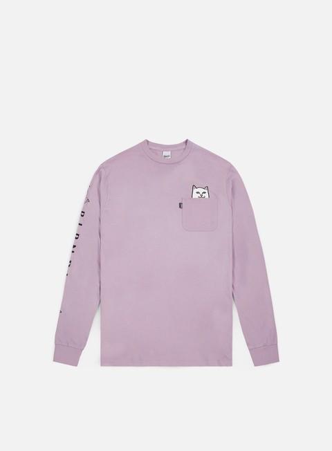 t shirt rip n dip lord nermal pocket ls t shirt lavender