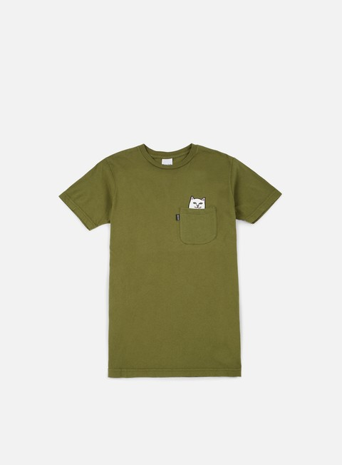 t shirt rip n dip lord nermal pocket t shirt army green