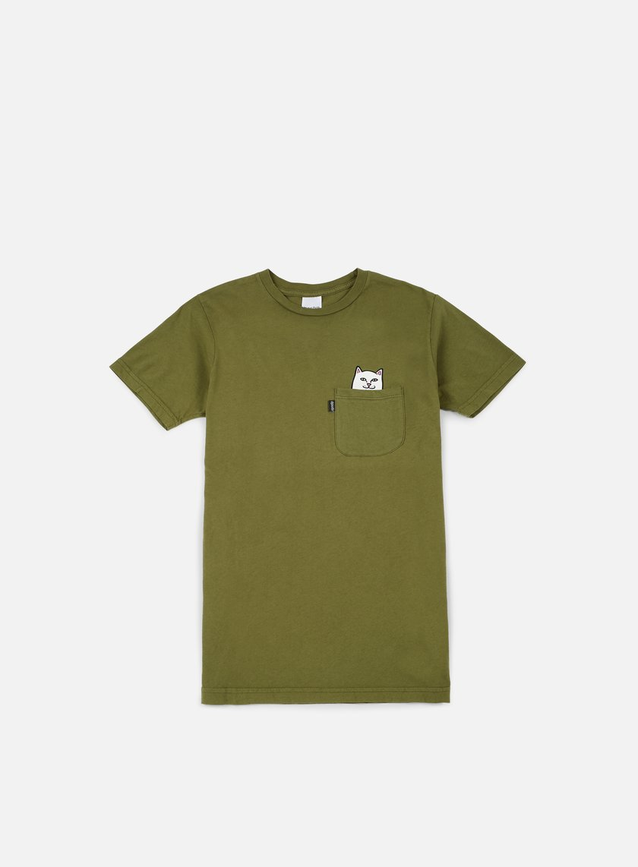 Rip N Dip - Lord Nermal Pocket T-shirt, Army Green