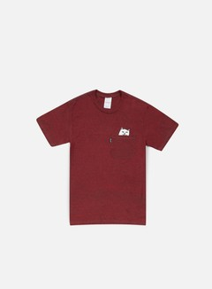 Rip N Dip - Lord Nermal Pocket T-shirt, Burgundy