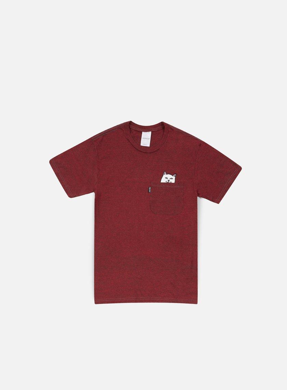 Rip N Dip - Lord Nermal Pocket T-shirt, Burgundy