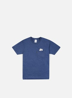 Rip N Dip - Lord Nermal Pocket T-shirt, Denim Triblend 1