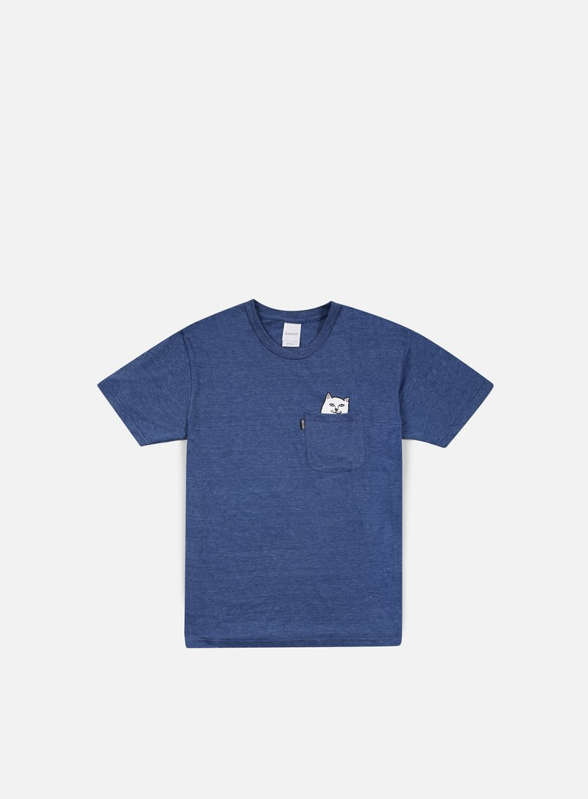 Rip N Dip - Lord Nermal Pocket T-shirt, Denim Triblend